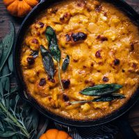 Pumpkin Cauliflower Gratin