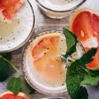 Grapefruit Mint Lemonade