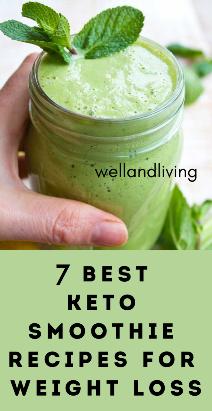 7 Best Keto Smoothie Recipes for Weight Loss