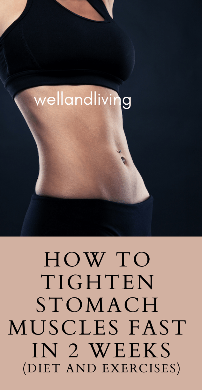 How to Tighten Stomach Muscles Fast in 2 Weeks