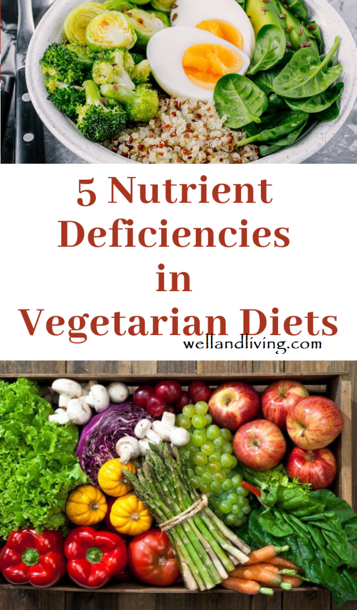 Taking Note of the Nutrient Deficiencies in Vegetarian Diets