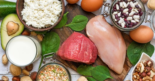 Eat more lean protein to tighten your loose skin after weight loss