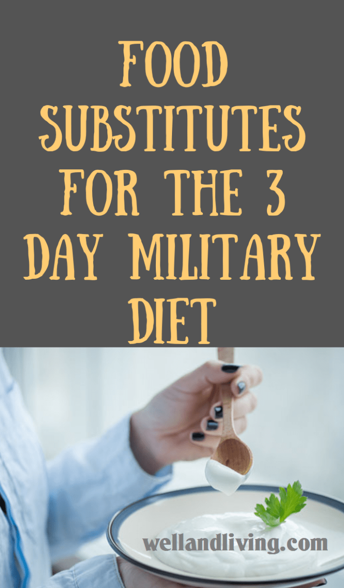Food Substitute for Military Diet