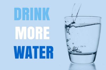 Lose 10lbs in a week - Drink More Water