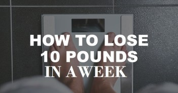 Lose 10 pounds in a week