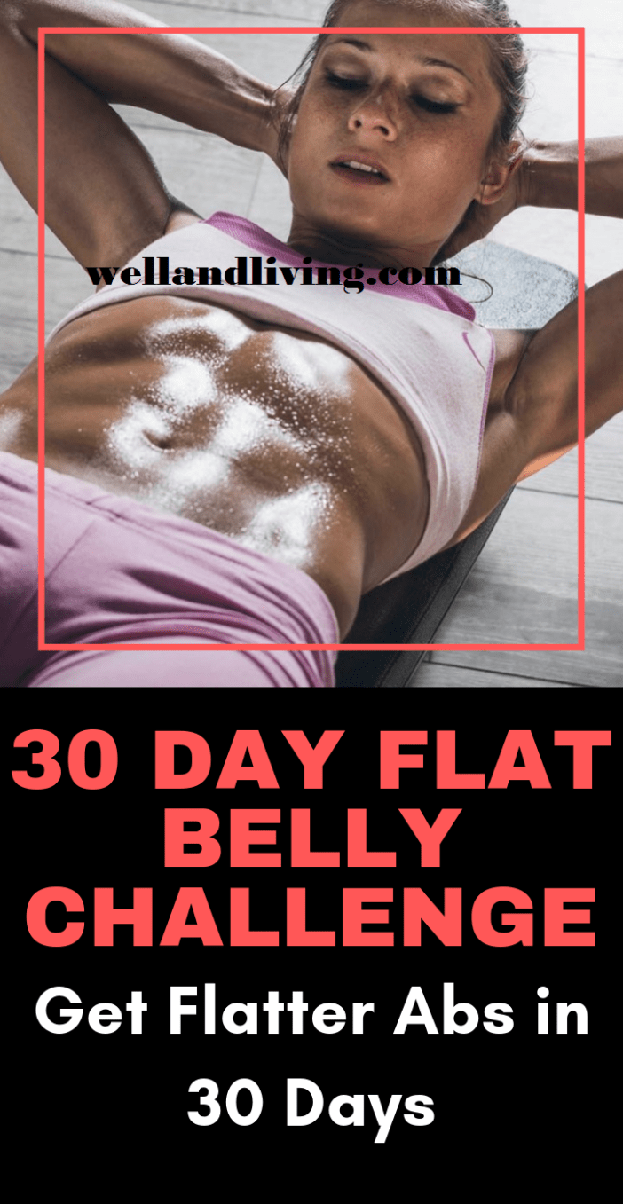 30 Day Ab Challenge for Flatter Abs Fast