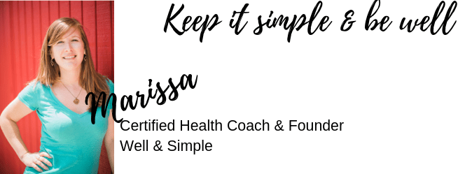 Keep it simple & be well