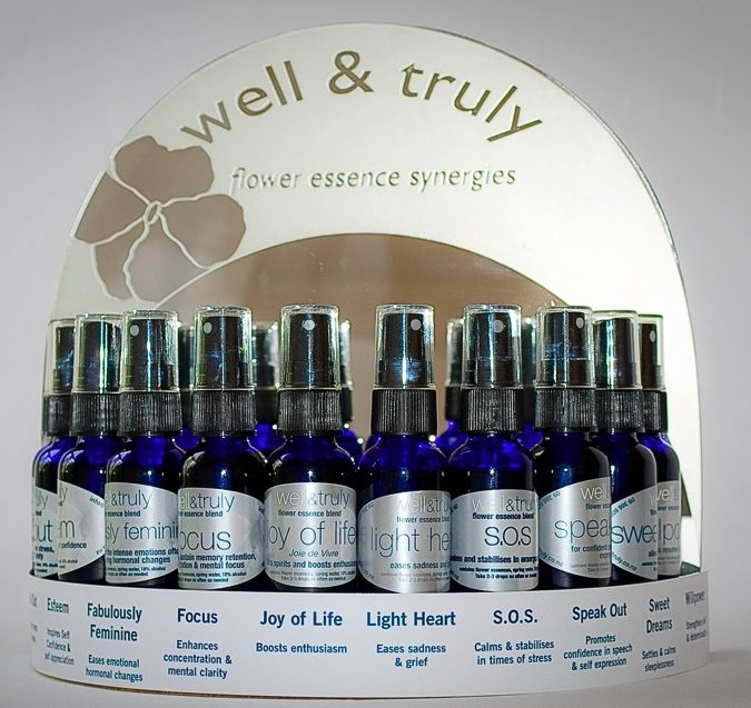 well & truly flower essence blends