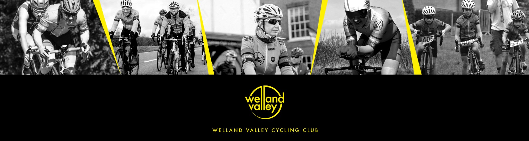 Welland Valley Cycling Club website header