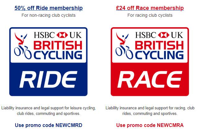 BC membership discounts