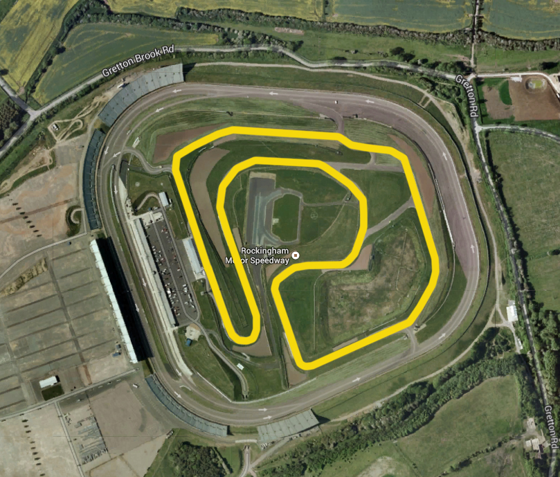 Rockingham race track