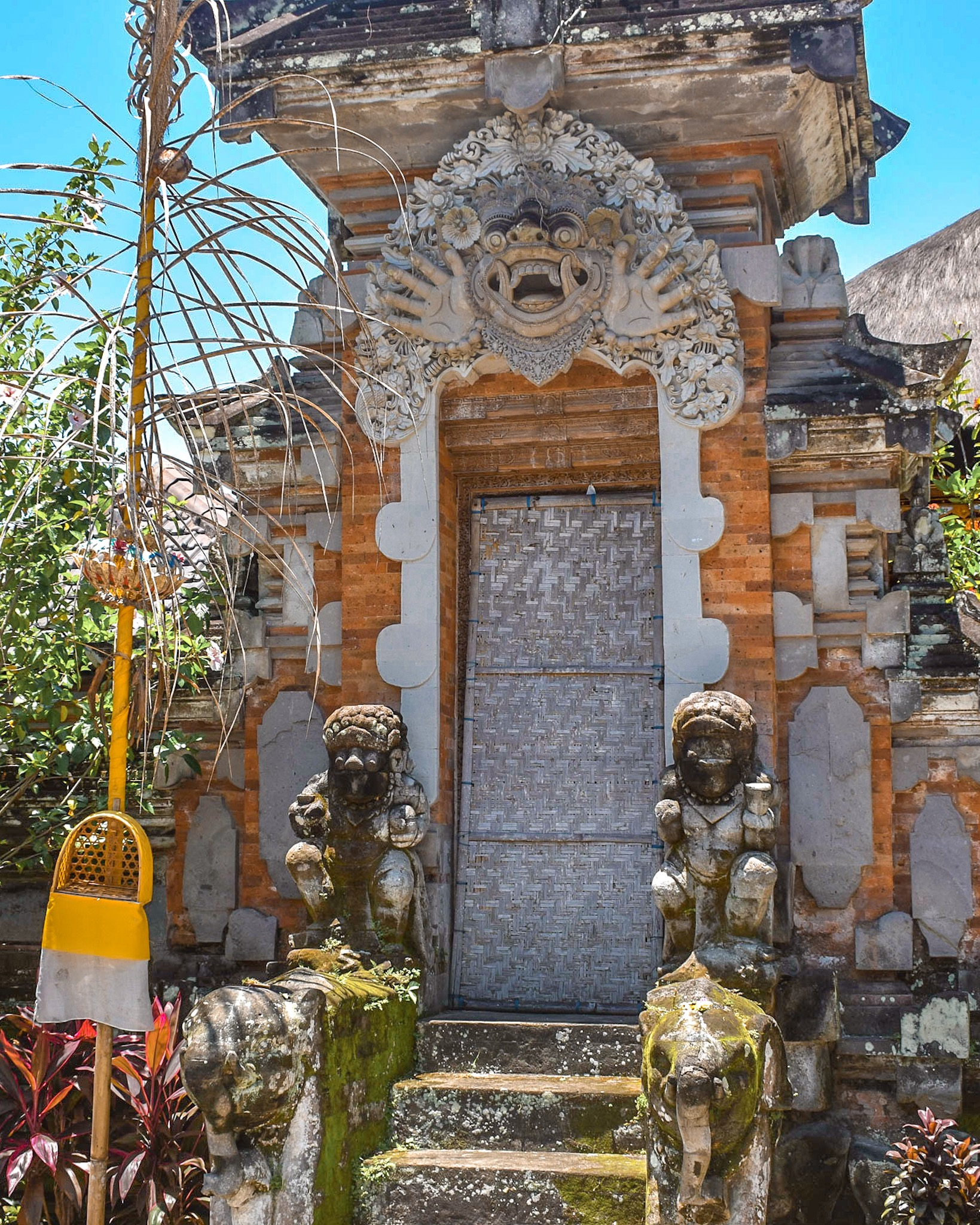 Entrance to a Traditional Balinese Home