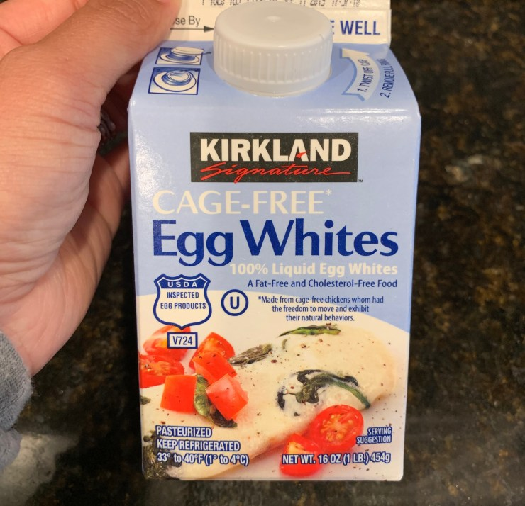 Costco Kirkland Egg Whites