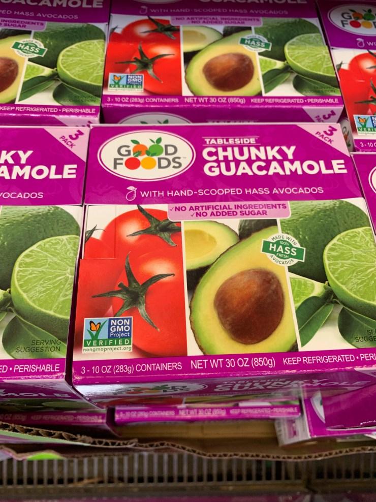Costco Good Foods Tableside Chunky Guacamole