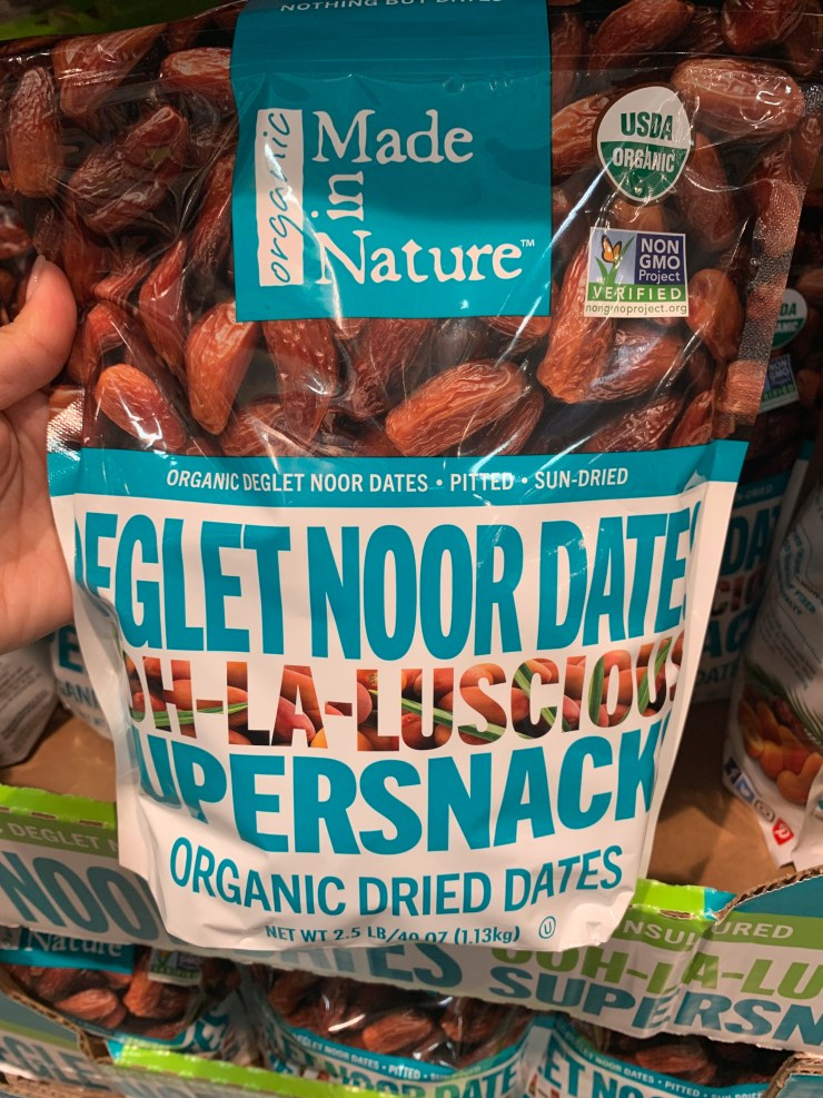 Costco Deglet Noor Organic Dried Dates