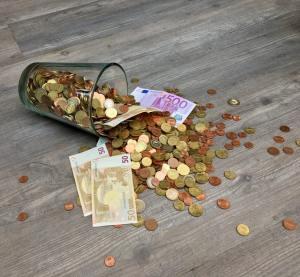 Geldverspilling