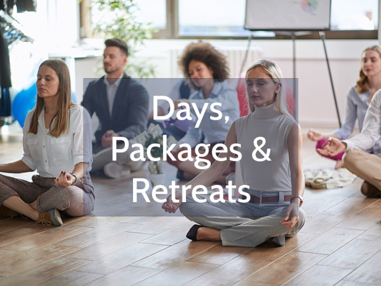 Days, Packages and Retreats - Wellbeing in your Office
