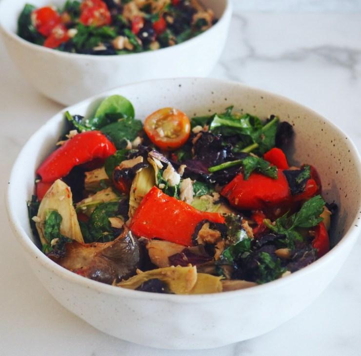 gluten free Mediterranean salad