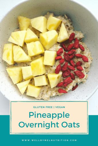 pineapple overnight oats pin