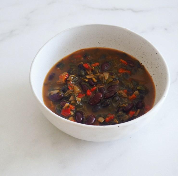 vegetarian bean chilli