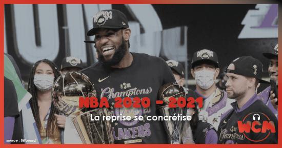 NBA 2020-21 : la reprise se concrétise
