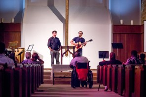 David Larlee and Ryan Flanigan of All Saints Church Dallas