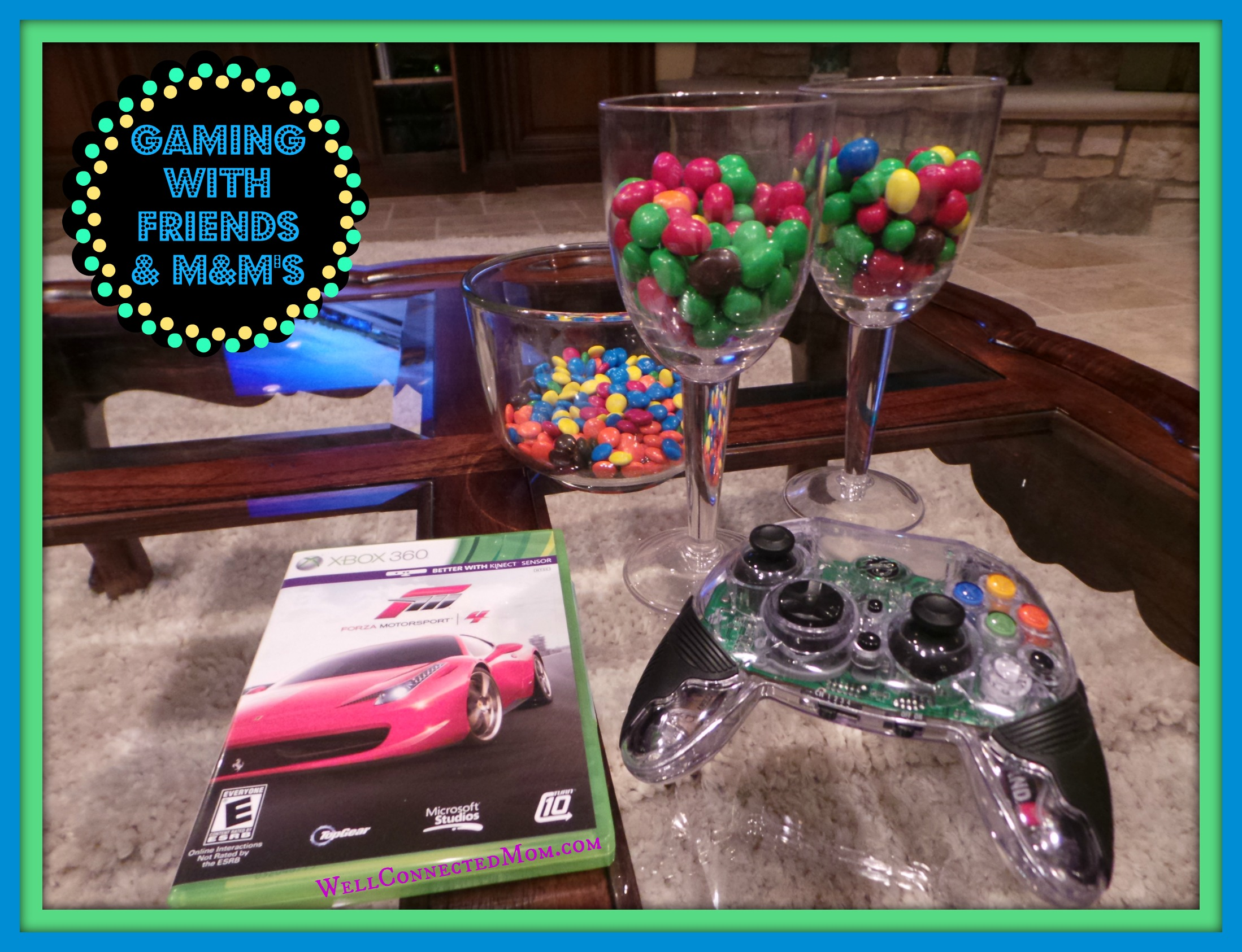 Video Games with Friends and M&M's