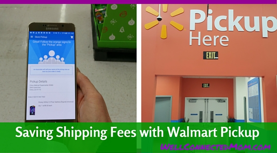 Save Shipping Costs By Using Walmart Pickup - The Well