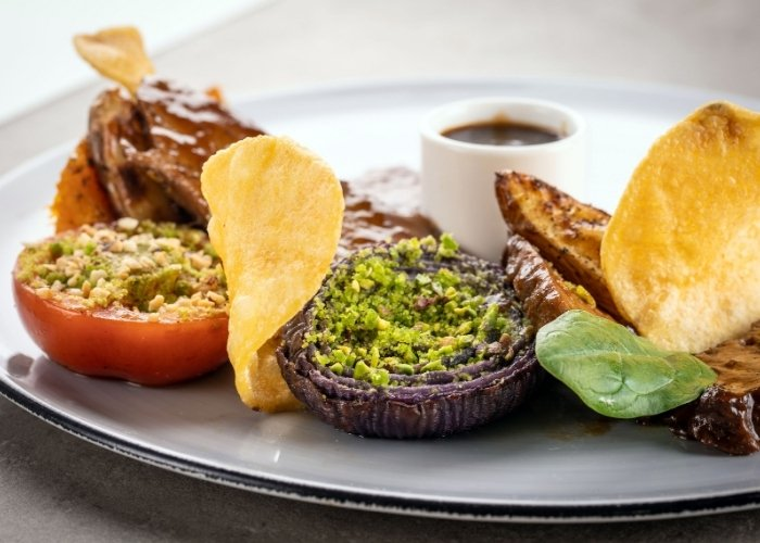 Cucina vegetariana - Seitan al piatto