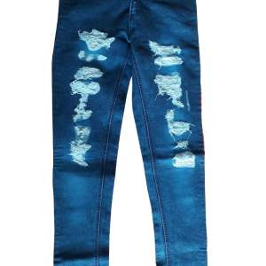 full demage jeans