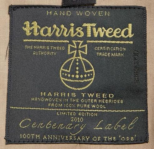 Harris_Tweed_Authority_Centenary_Label