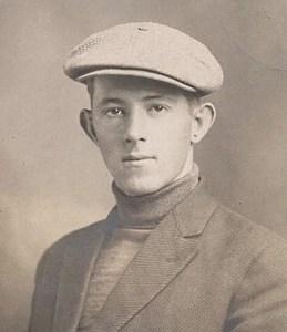 flat cap man