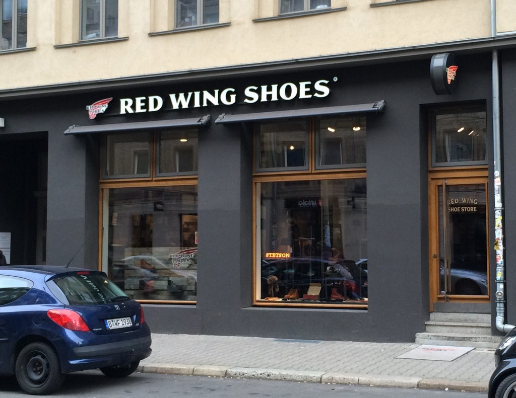Red Wing Shoes Berlin.