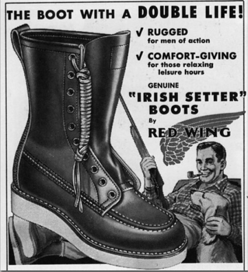 old red wing 877 ad