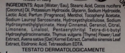 proraso ingredients
