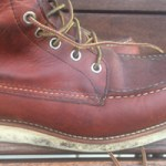 Red Wing soles – keeping the Christy soles crispy – shoecare