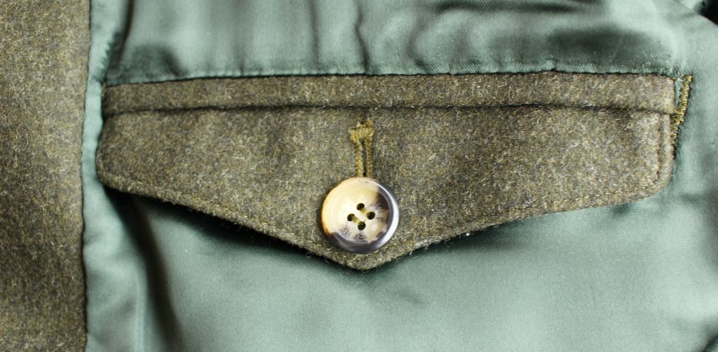 The inside is as finely crafted as the outside of the Grenfell jacket.
