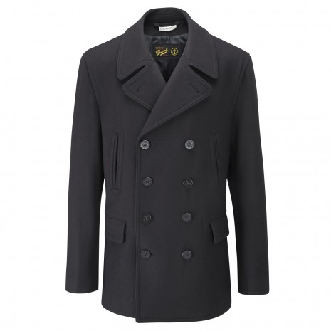 The Gloverall Churchill Reefer jacket.
