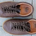 Handmade Crown sneakers from Northampton