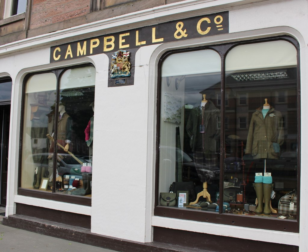 Campbell's have been in business in Beauly since 1858 and now again proudly with a Royal Warrant.