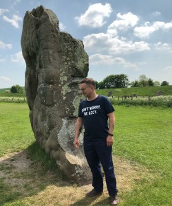 Avebury offers unrestriced access to vertically aligned ancient stones.