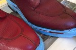 Redying shoes - Changing the colour of leather shoes