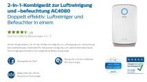 Philips Ecarf Testbericht Luftreiniger, Luftbefeuchter, Luftwäscher