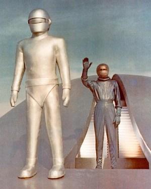 Gort e Klaatu in Ultimatum alla Terra