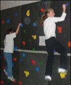 Sprague PE Class Rock Climbing