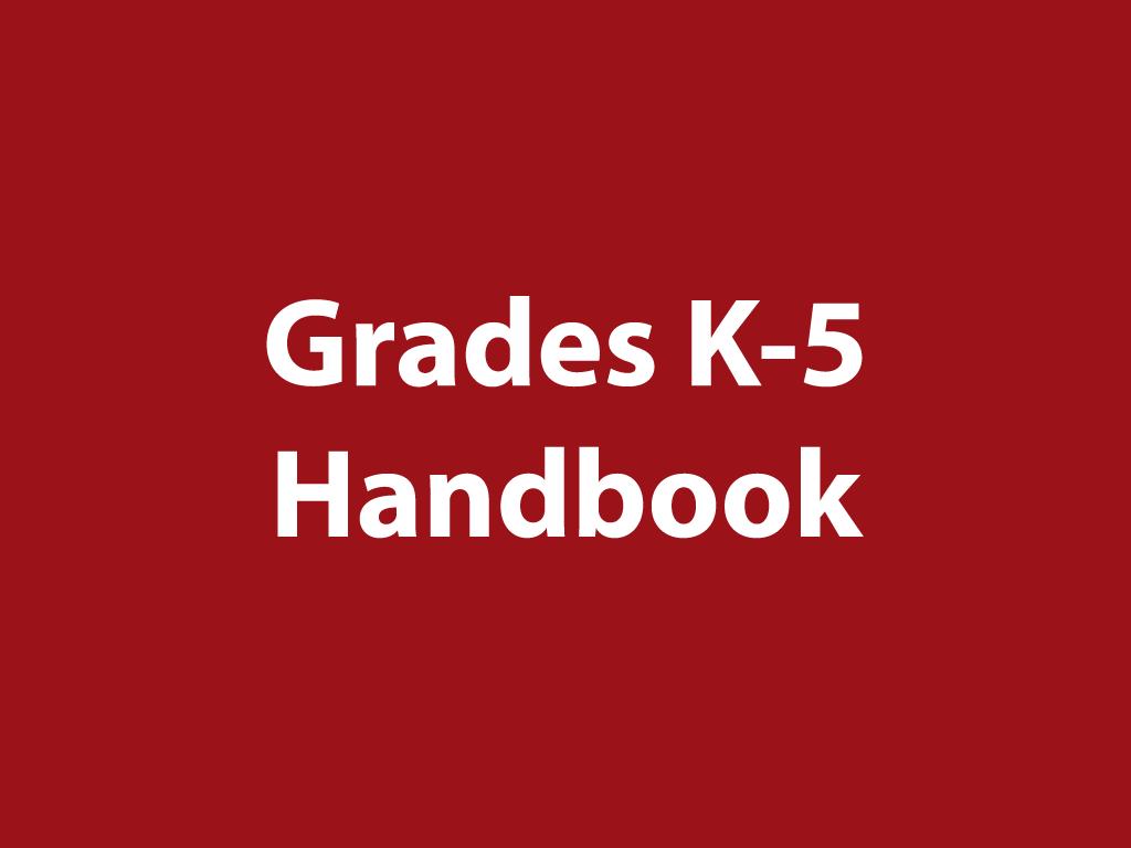 K-5 Handbook