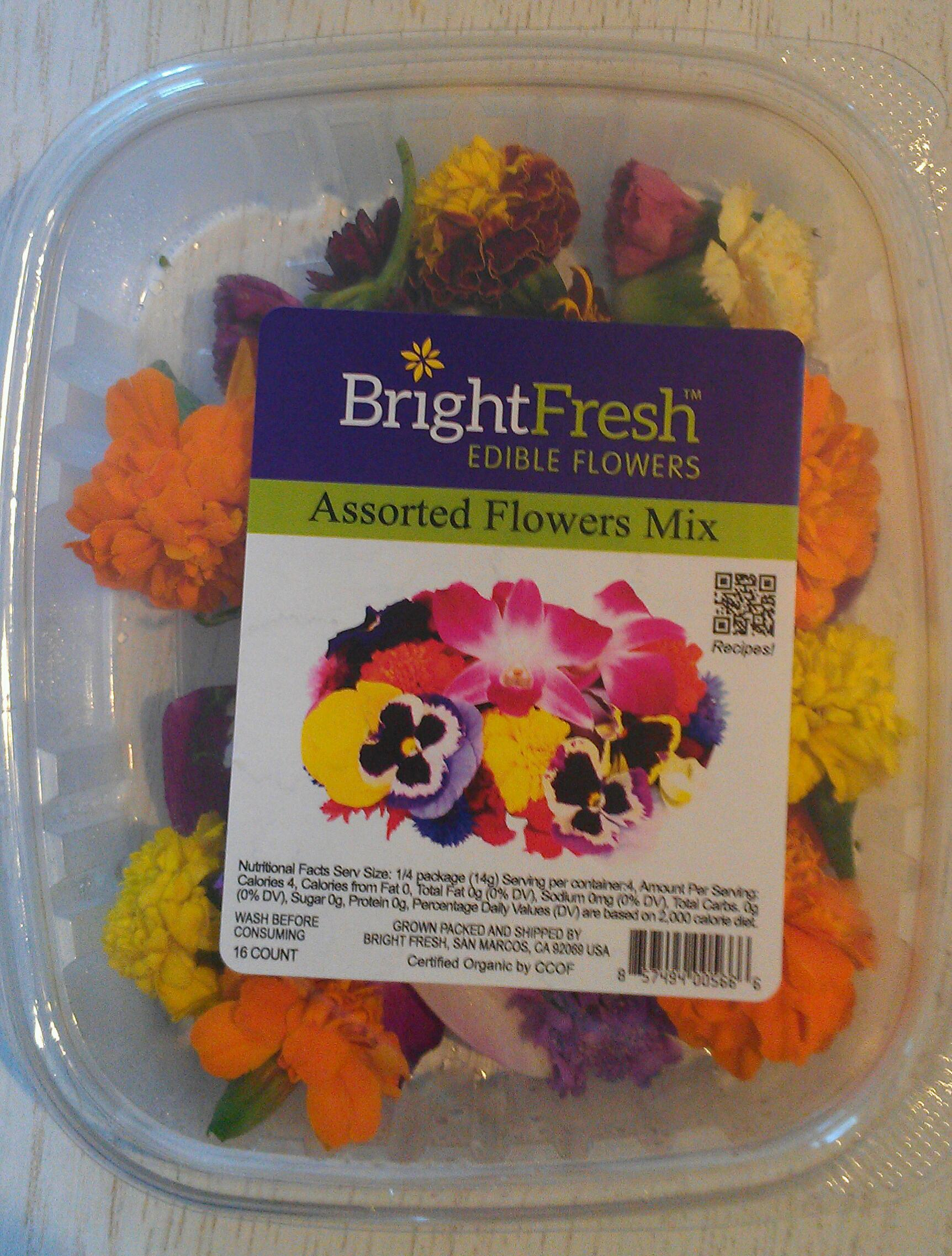 Packaged Edible Flowers A Feast For The Eyes And Palate