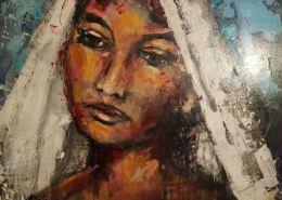 Andalusische bruid-Arnold van der Vlist