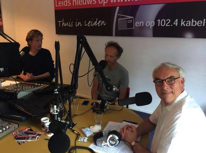 Radiointerview met Han Ruijgrok en Gideon Roggeveen