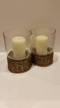 2 x Candle Holders Starting Bid- £2